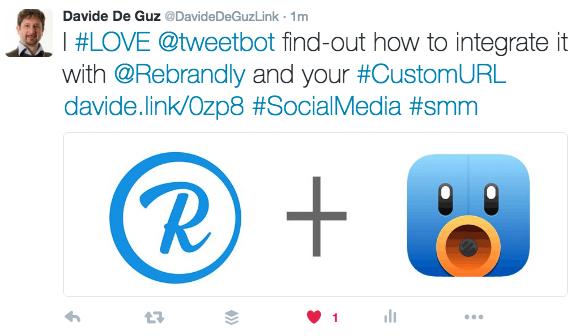 Custom URL Shortening for Tweetbot (iOS and MAC) – Rebrandly